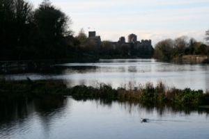 Pembroke Castle Across the Millpond