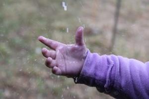photo_hand in rain